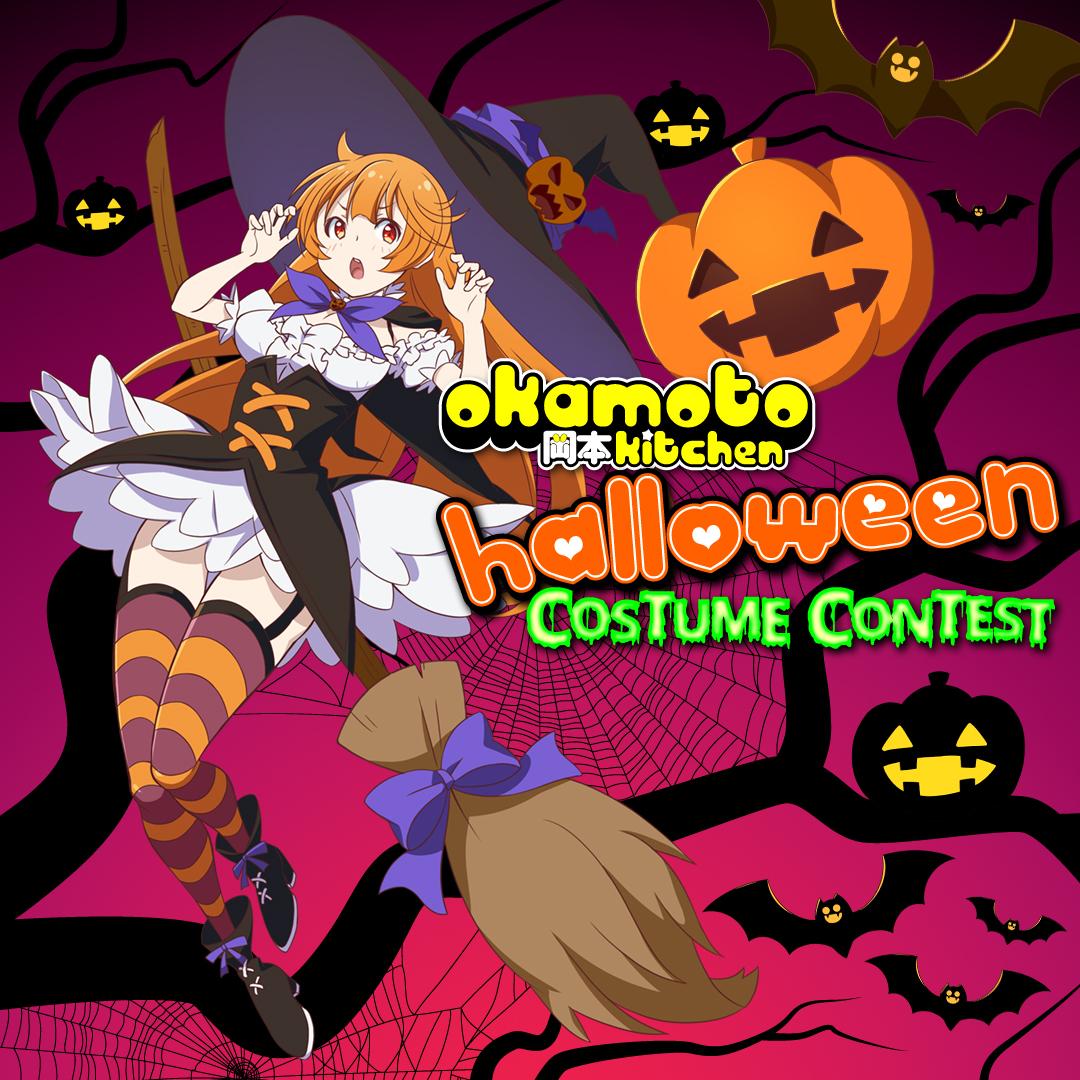 Okamoto Kitchen Costume Contest Graphic