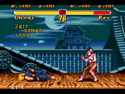Screenshot of Street Fighter