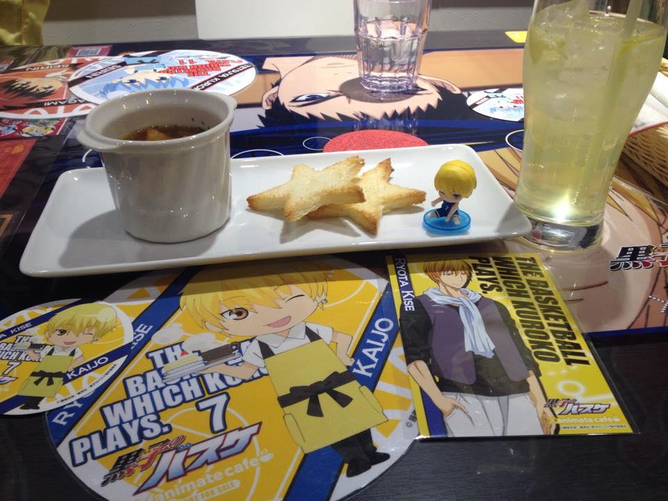 A dish with a Kuroko no Basuke theme